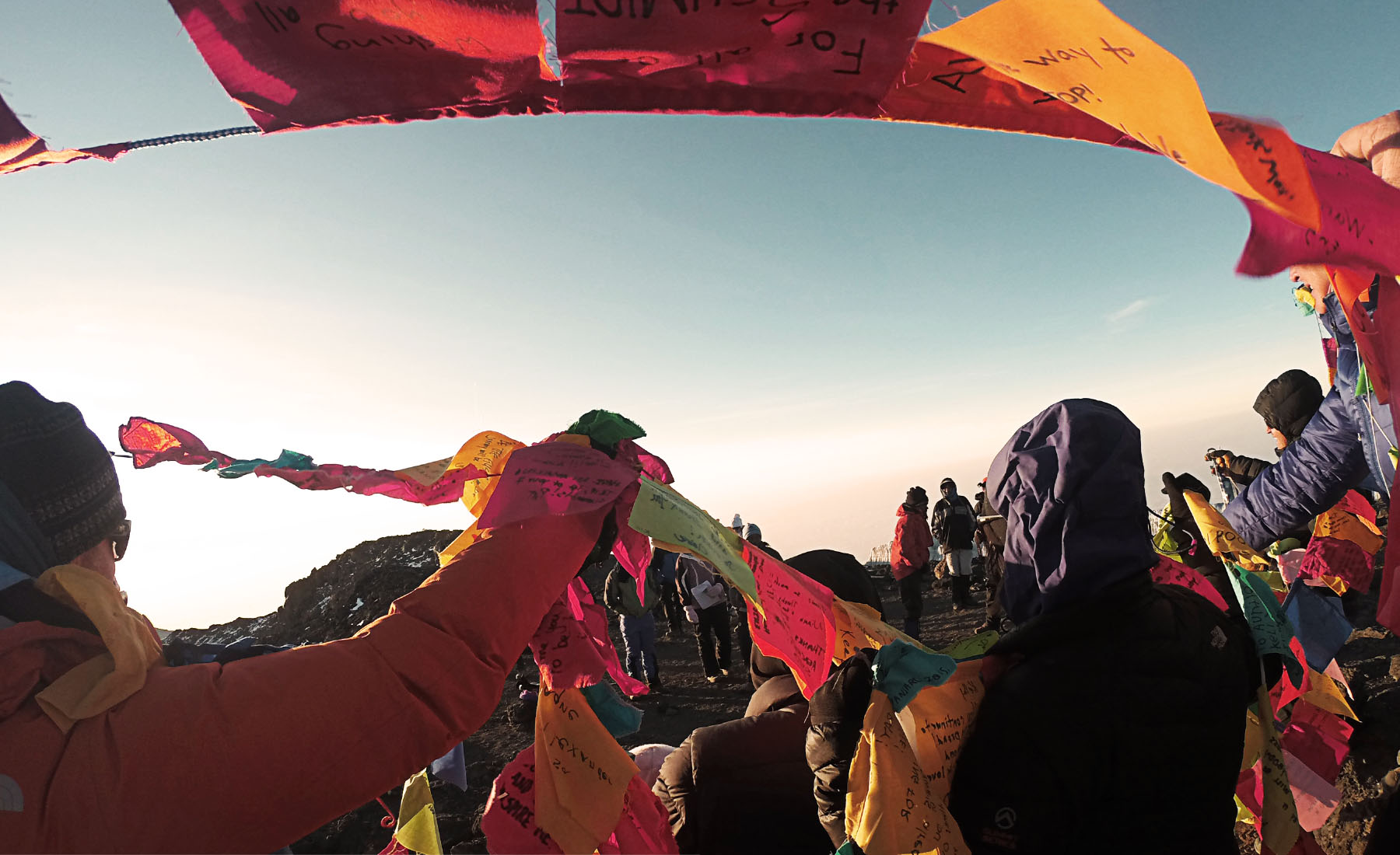 Summits of Hope Prayer Flags